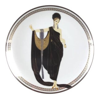 House of Érte Glamour Collectible Plate