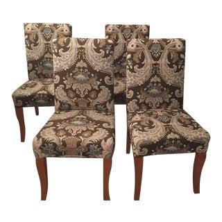Ballard Design Custom Parson's Chairs - Set of 4