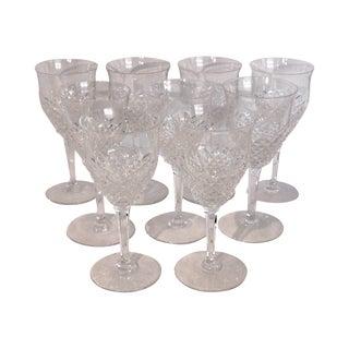 Val Saint-Lambert Wine Goblets - Set of 9