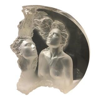 """Michael Wilkerson """"Moonscape II Aria"""" Sculpture"""