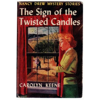 Nancy Drew: Sign of the Twisted Candles Book