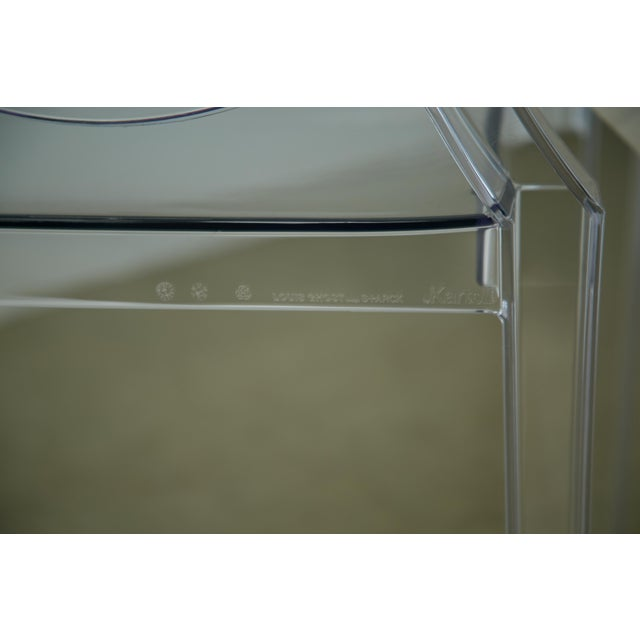 Louis XVI Ghost Chairs by Philippe Starck for Kartell, Unused With Original Tags, Four (4) Available - Image 7 of 9