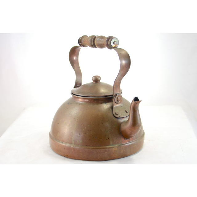 Image of Rustic Copper Teapot