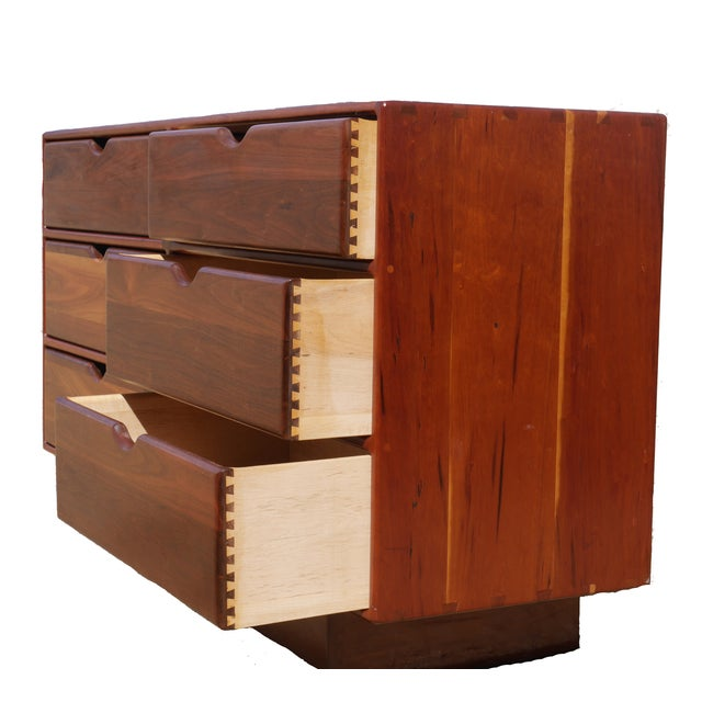 Image of Gerald McCabe MCM Walnut Dresser