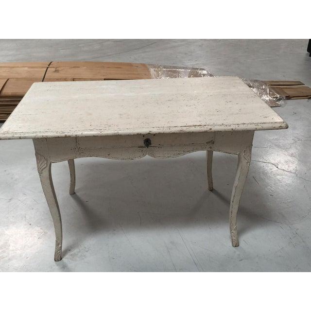 Circa 1770 Painted Rococo Desk - Image 2 of 5