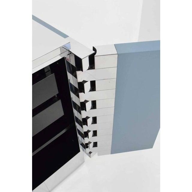 Paul Evans Custom Brick Hinge Console - Image 7 of 9