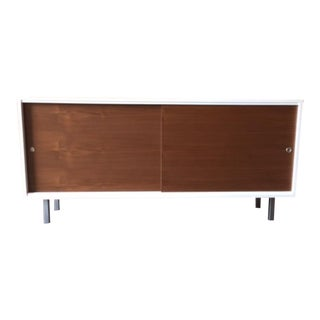 Mid-Century Style Off-White Lacquered Credenza
