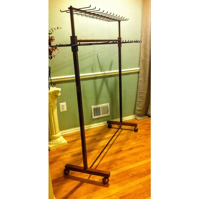 Industrial Two Tier Copper Rack Stand - Image 3 of 10