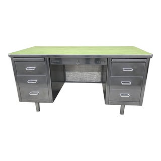 Restored Vintage Steelcase Desk