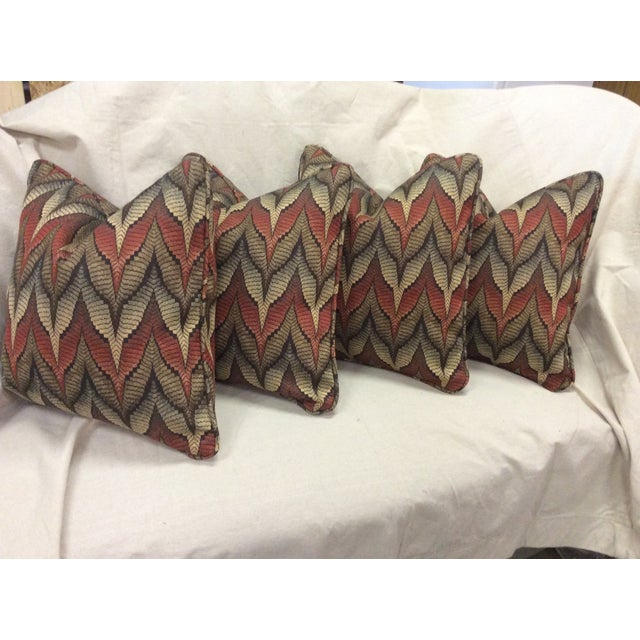 Tapestry Upholstered Pillow - Image 7 of 7