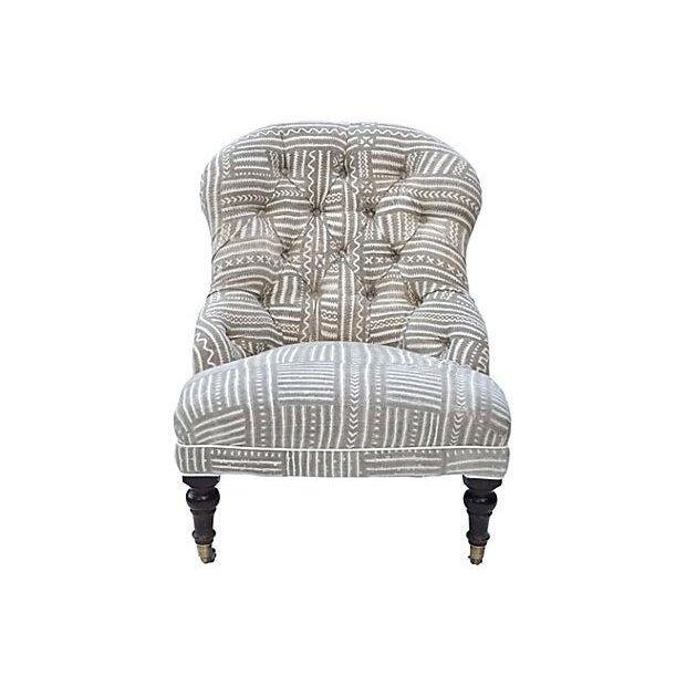 Mudcloth Boudoir Chair - Image 2 of 9