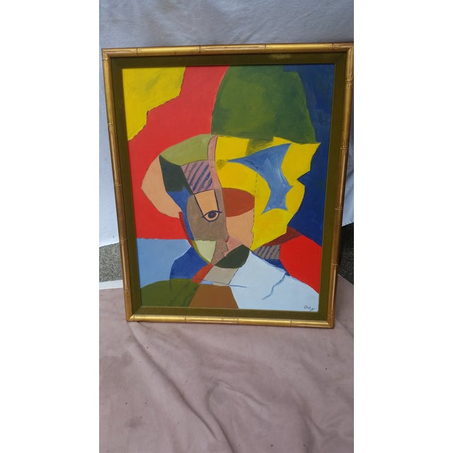 Vintage Abstract Painting From the 1960s - Image 2 of 8