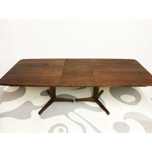 Mid-Century Modern Dining Table by Brown Saltman - Image 6 of 7