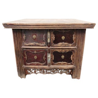 Antique Incent Table Chest of Drawers