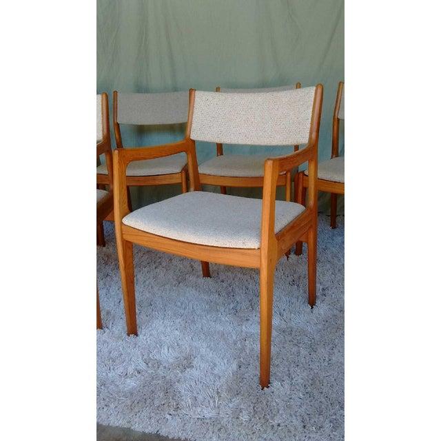 D-Scan Vintage Teak Dining Chairs - Set of 6 - Image 4 of 9