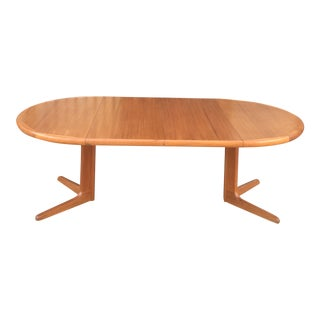 Expanding Danish Modern Dining Table
