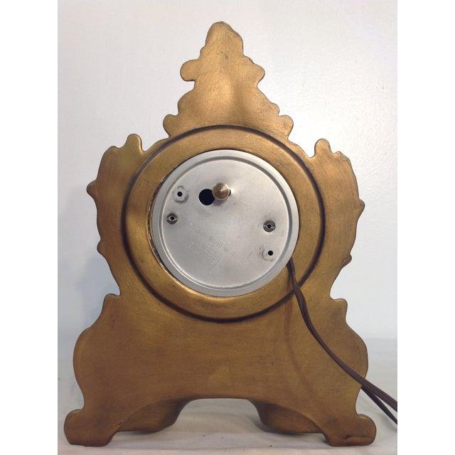Cherub Ceramic Lanshire Mantle Clock Holland Mold - Image 5 of 10