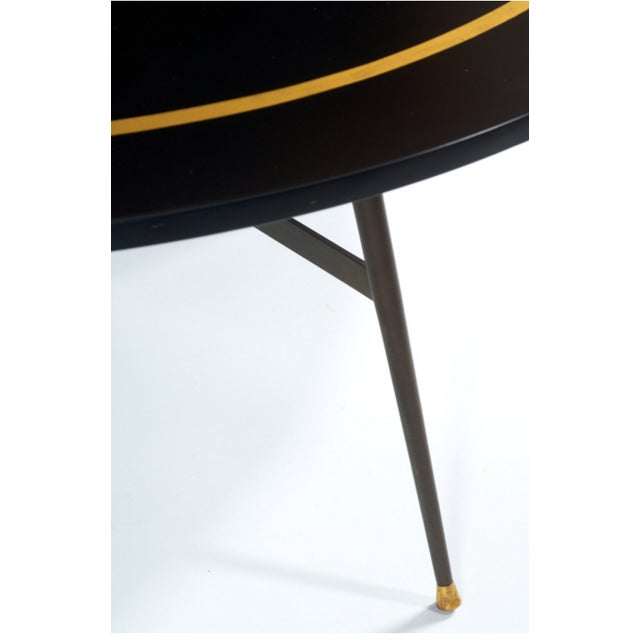 Black And Gold Coffee Table Dinning Table Chairish