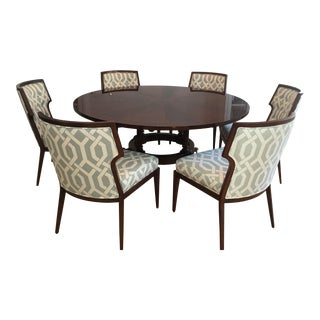 Round Bolier Dining Room Set