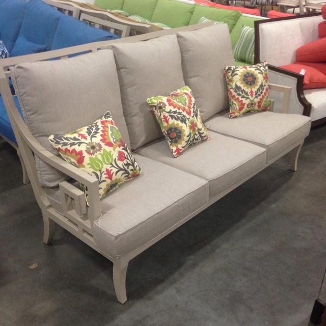 Lane Venture Gray Outdoor Sofa - Image 2 of 9