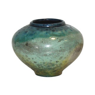 Blue and Green Studio Pottery