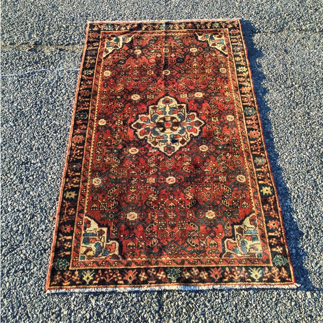 Hoseinabad Persian Rug - 3′ × 5′1″ - Image 2 of 10