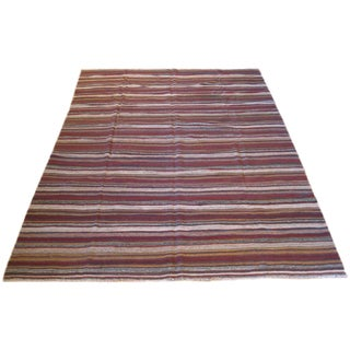 Striped Kilim Rug - 8′2″ × 11′3″