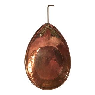 Copper Decorative Handled Pot