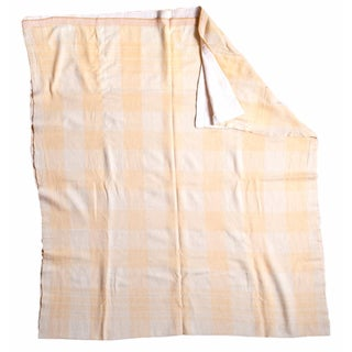 Large Vintage Wool Blanket