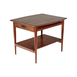 1960s Drexel Heritage Walnut Side Table