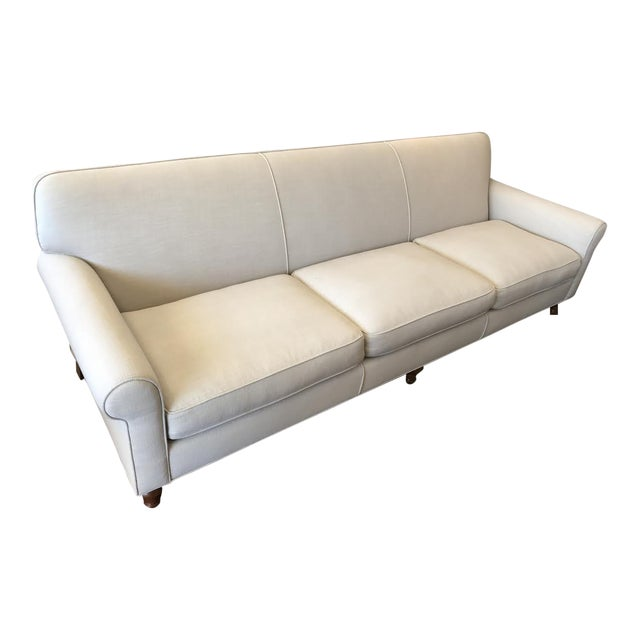 Image of Modern Custom Ivory Sofa