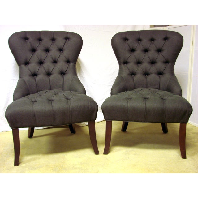 Image of Mitchell Gold + Bob Williams Chairs - a Pair