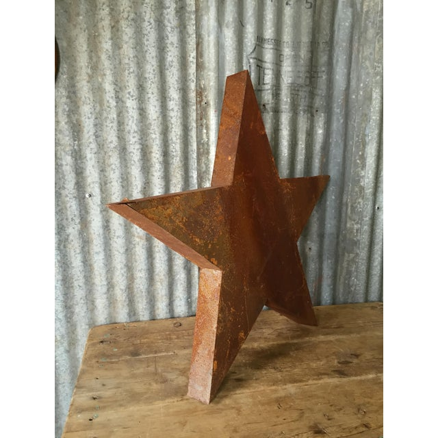 Handcrafted 3D Metal Star - Image 6 of 10