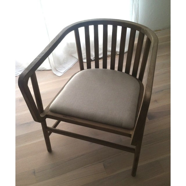 HD Buttercup Oak Club/ Dining Chair - Image 2 of 8