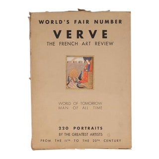 """Verve: The French Review of Art"", No's 5-6: 1939 the World's Fair Review"