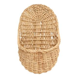 Vintage Large Woven Wall Basket