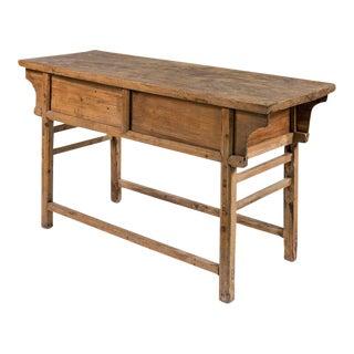 Sarreid Ltd Antique Pine Console Table