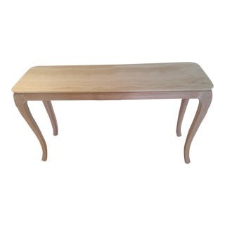 Travertine Top Console