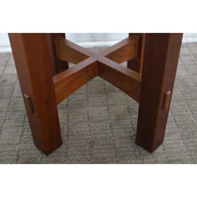 Stickley Mission Style Cherry Side Tables - B Pair - Image 5 of 10
