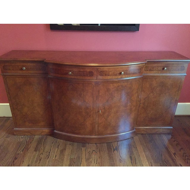 Francesco Molon Burled Wood Sideboard - Image 3 of 11