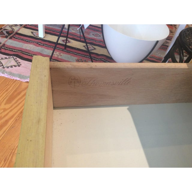 Thomasville Vintage Faux Bamboo Desk - Image 8 of 9