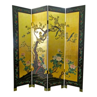 Chinese Gold Leaf Room Divider