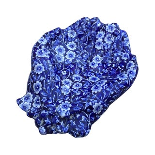 Vintage Blue & White Hands Soap Dish