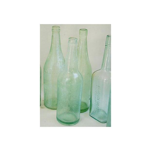 Pale Green-Blue Antique Bottles - Set of 8 - Image 6 of 8