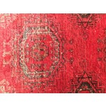 """Image of Antique Turkaman Red Persian Rug - 1'10"""" x 2'10"""""""