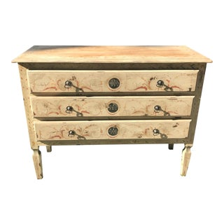 French Hand Painted Dresser