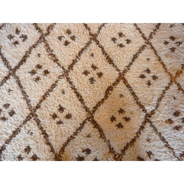 Image of Vintage Handmade Moroccan Rug