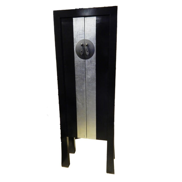 Black Lacquer Armoire - Image 2 of 10