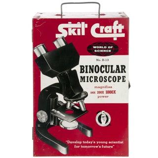 Vintage Mid-Century SkilCraft Binocular Microscope