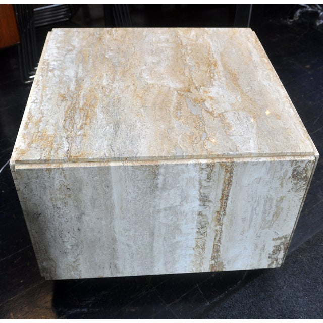 Image of Stone Side Table
